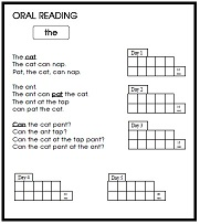 Level 1 Oral Reading