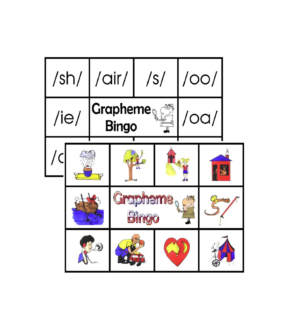 Level 3 Grapheme Bingo