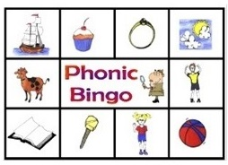 Level 2 Phonic Bingo