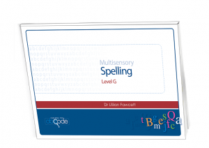 Multisensory Spelling Program Level G